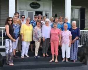 Happy Wanderers at Boxwood Inn (Lee Hall), June 22, 2017