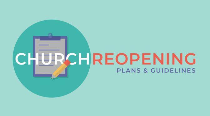 Healthy Church Team Announcement (9/28/20)